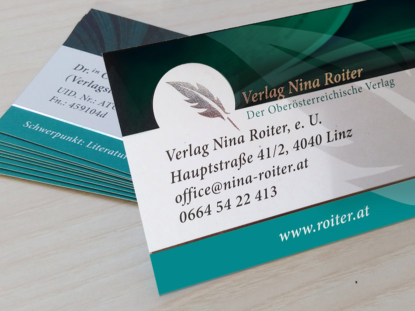 Visitenkarten Design Im Kreativen Design Designerladen At